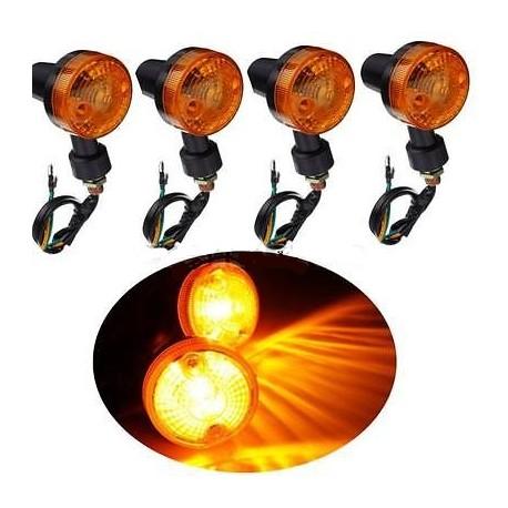 Moto blinkry – univerzální, 4 ks