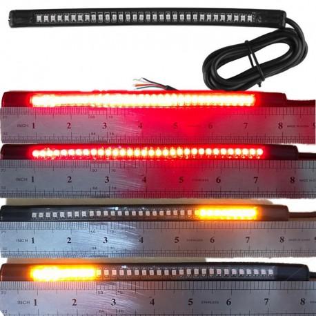 Koncové flexibilní LED světlo s blinkry