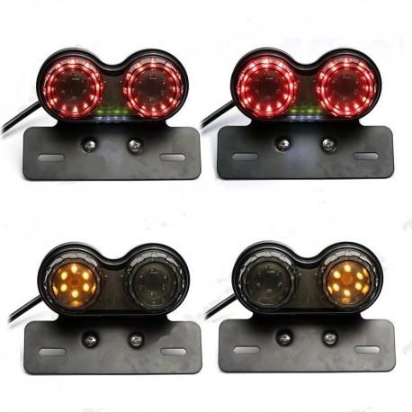 Duální brzdové LED světlo s blinkry