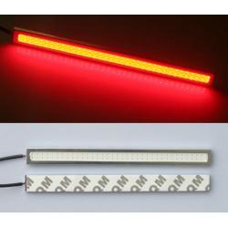 Světla pro denní svícení - podsvícení - červené - 2 ks