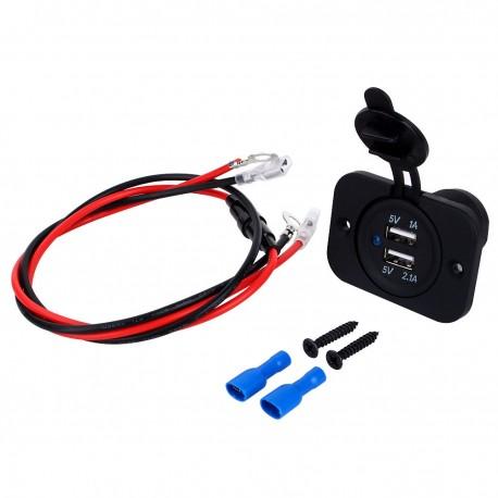 usb port na moto motockl nabíječka zásuvka do auta pro automobil 514302db81