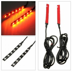 Flexibilní LED blinkry -světelný pás směrových světel - univerzální 2 ks