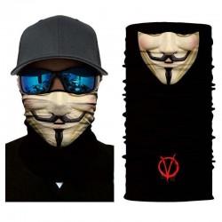 Multifunkční šátek Anonymous