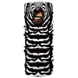 Multifunkční šátek - zebra