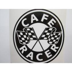 Samolepka cafe racer