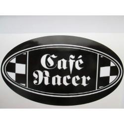 Polepy cafe racer ovál
