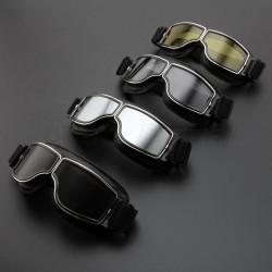 Letecké retro vintage ochranné brýle