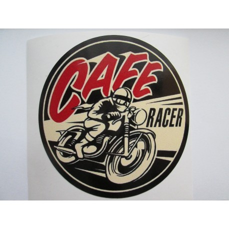 Samolepka cafe racer retro