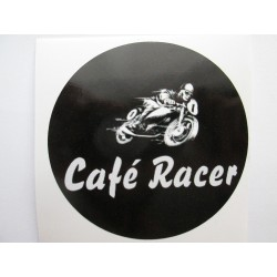 Samolepka cafe racer motorka