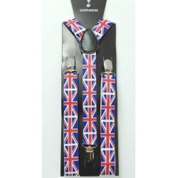 Kšandy - vzor Anglická vlajka
