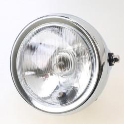 Přední černé světlo na motorku - Suzuki GN 125