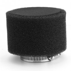 Molitanový Vzduchový filtr 38 mm - černý