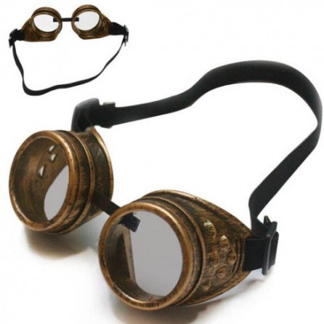 Steampunk vintage brýle