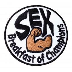 Nášivka - Sex snídaně šampionů