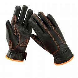 Kožené rukavice na motorku