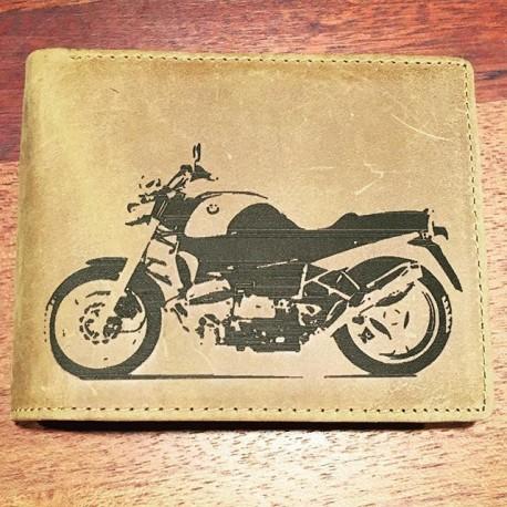 Kvalitní kožená peněženka s motivem na přání