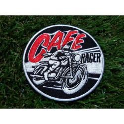 Motorkářská nášivka Cafe racer