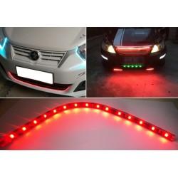 Flexibilní LED podsvícení - červené - 2ks
