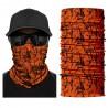Multifunkční šátek oranžová kamufláž