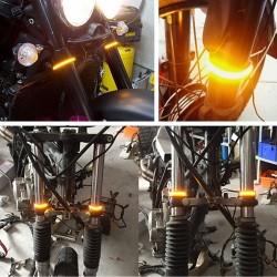 Flexibilní LED blinkry - univerzální 2 ks