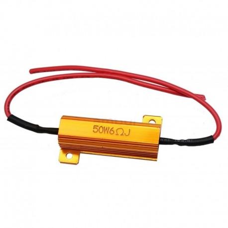Rezistor pro LED blinkry odpor 6ohm, 50W