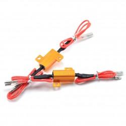 Rezistor pro LED blinkry na motorku odpor 6 ohm, 50W