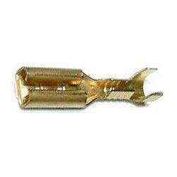 Faston zdířka pro konektor 4,8 mm, 10 ks