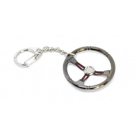 Přívěsek na klíče - tlumič kovový