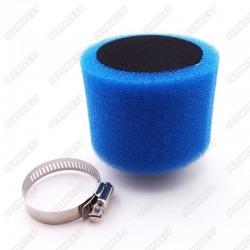 Molitanový Vzduchový filtr 38 mm - modrý