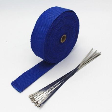 Termoizolační páska (oplet)- modrý, 10m/5 cm