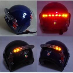 Brzdové světlo na přilbu - LED