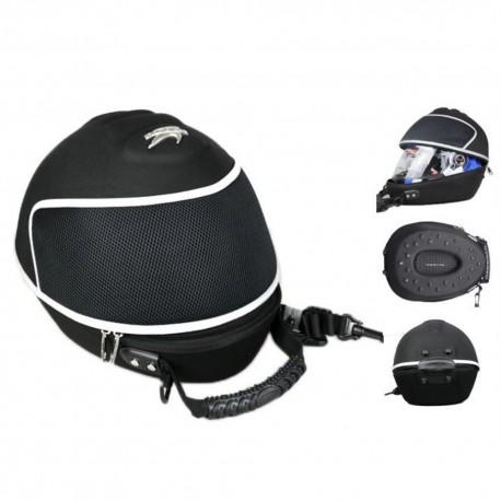 Motobrašna na helmu